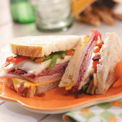 Grilled Deli Sandwiches