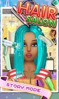 Screenshot of Hair Salon - Kids Games