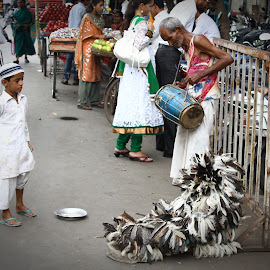 Birds of a Feather by Saurav Mohanty - People Musicians & Entertainers ( street photography )