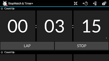 Screenshot of StopWatch & Timer+