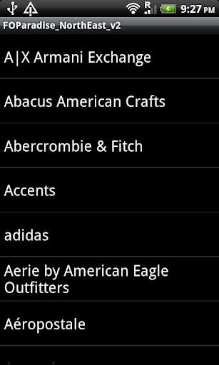 【免費購物App】Factory Outlets: US NorthEast-APP點子