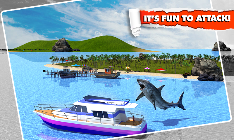 Angry Shark Simulator 3D Screenshot 1