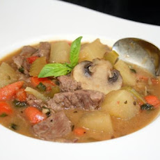 Tasty Meat & Potato Soup