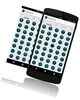 Screenshot of Blue Glass Icon pack