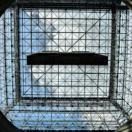 Jacob Javetts, . Convention Center Ceiling. by Valerie Stein - Buildings & Architecture Other Interior ( patterns. valerie stein., glass, Architecture, Ceilings, Ceiling, Buildings, Building )