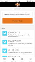 Screenshot of Camel Rewards