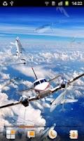 Screenshot of Airplane Live Wallpaper
