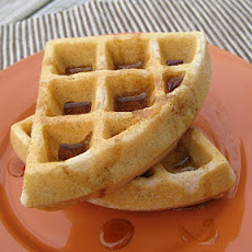 Bacon and Cinnamon Waffles