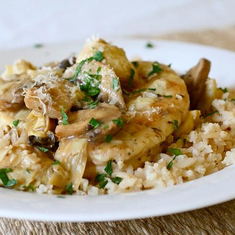 10 Best Chicken Artichoke Mushroom White Wine Recipes | Yummly