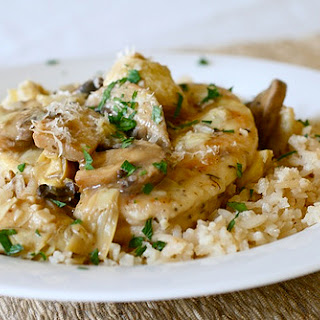 Chicken Artichoke Mushroom White Wine Recipes
