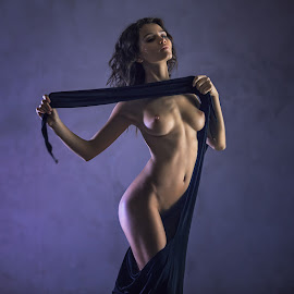 Kris  by Dmitry Laudin - Nudes & Boudoir Artistic Nude ( girl studio light nude )