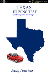 Texas Driving Test - screenshot