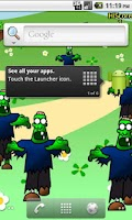 Screenshot of Zombie Pop LW Free