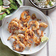 Citrus-Glazed Shrimp with Cilantro Rice