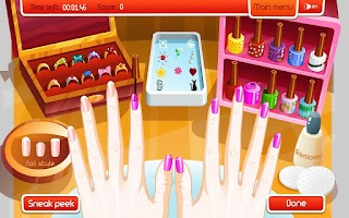 Screenshot of Make Up Mania