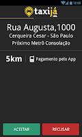 Screenshot of Taxijá - Motorista