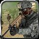 Lone commando sniper shooter