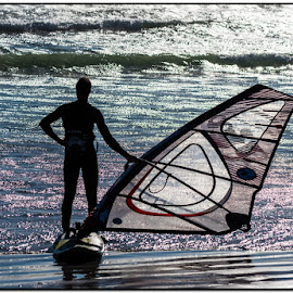 Waiting for the wind by Wessel Badenhorst - Sports & Fitness Surfing