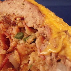 Cornbread Stuffed Meatloaf