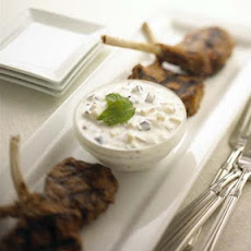 Chavrie Raita With Grilled Lamb