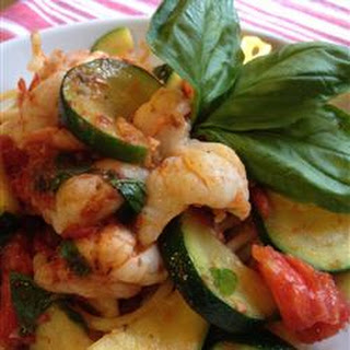 Bucatini Pasta with Shrimp and Anchovies