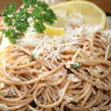 Linguine With Lemon, Garlic & Parmesan