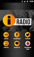 Screenshot of iRadio Ireland