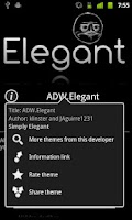 Screenshot of ADW.Elegant Theme