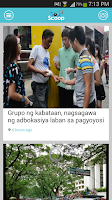 Screenshot of YouScoop