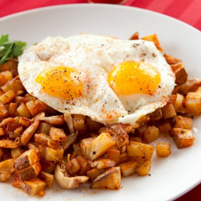 Shredded Chicken Hash