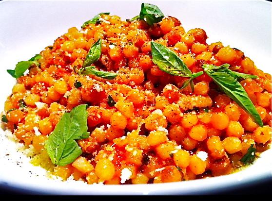 Fregola Sarda Risotto Fregola Sarda With Tomato