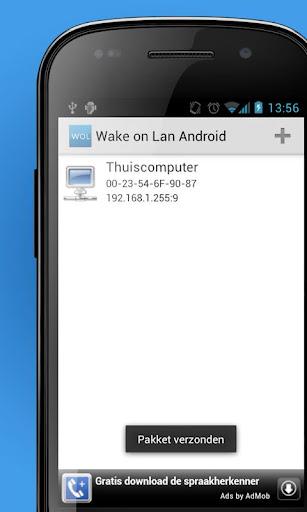 Wake on Lan Android