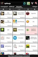 Screenshot of Polish applications