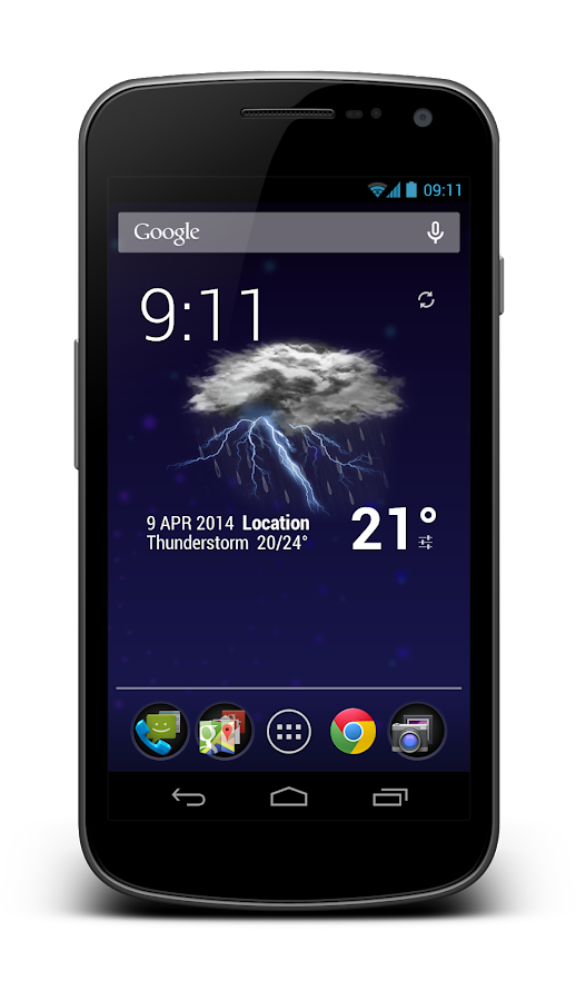 Weather Animated Widgets Screenshot 4