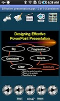 Screenshot of ShowDirector PowerPoint Remote