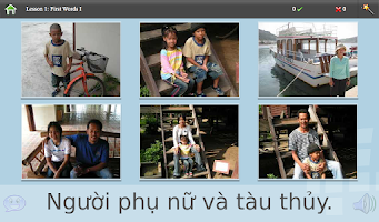 Screenshot of L-Lingo Learn Vietnamese