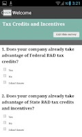 Screenshot of HA&W: Tax Credits & Incentives