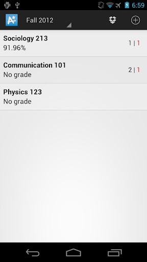 My GradeBook : Student Grades