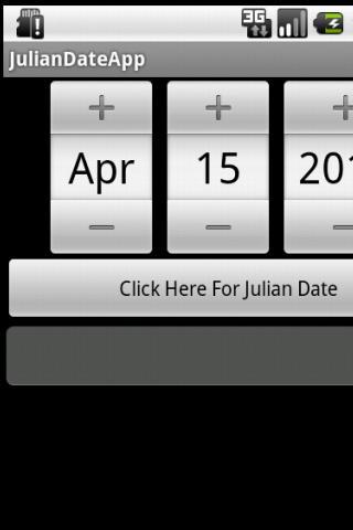 Free Julian Date Converter