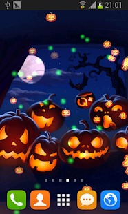 Halloween Free wallpaper - screenshot