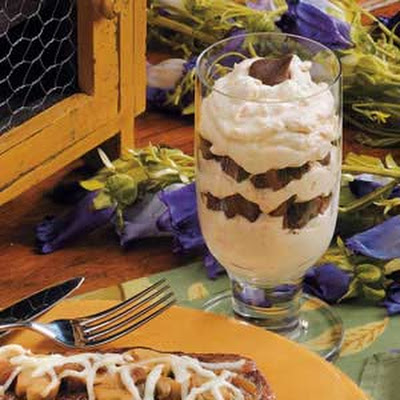 Peanut Butter Cream Parfaits