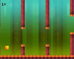 Screenshot of Flappy Pixel