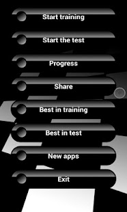 Trainer memory & attention PRO - screenshot