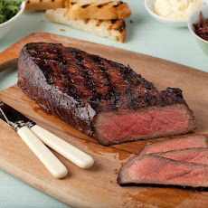 London Broil With Onion Marmalade