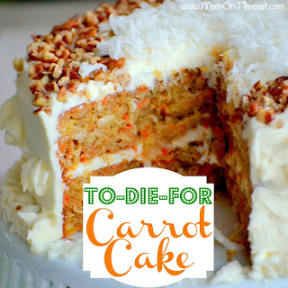 To-Die-For Carrot Cake {Recipe}