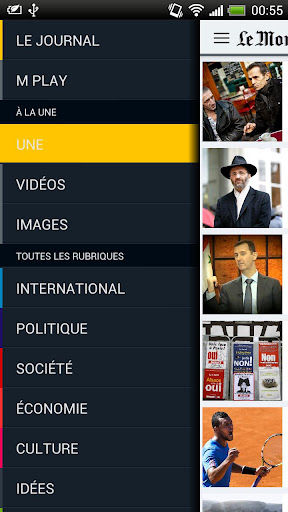 le-monde-fr for android screenshot