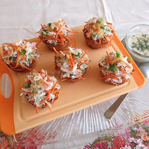 Jewish Peasant Turnip and Carrot Salad, Dressed-Up for Rosh Hashanah