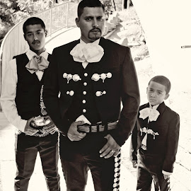 The Boys by Nathanael Ensley - Wedding Groom