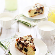 Almond Blueberry Lemon Curd Coffee Cake