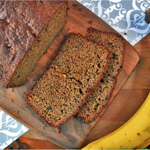 Healthy Cinnamon Banana Bread